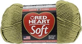 Red Heart Soft Yarn, Leaf