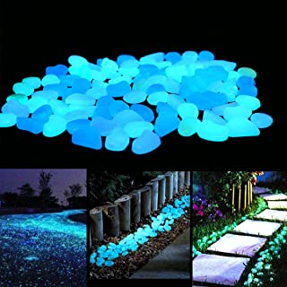 Have you ever seen glow in the dark pebbles in a garden? They are the most beautiful thing at night. They really do look magical. For more garden art ideas, look here.