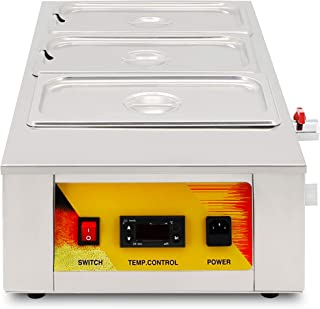 Three Cylinder Chocolate Melting Furnace Pot Melter Heating Machine (220V AU/EU/UK plug)