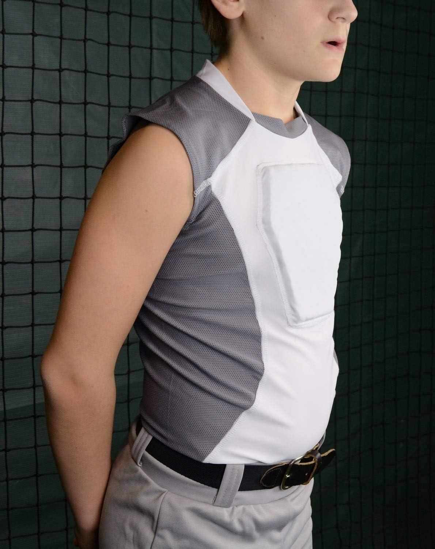 Sports Unlimited Diamond Shield Youth Baseball Sternum Guard Shirt