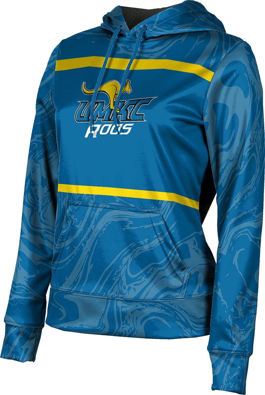 ProSphere University of Missouri-Kansas City Girls' Pullover Hoodie, School Spirit Sweatshirt (Ripple)