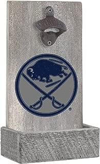 Rustic Marlin Designs NHL Unisex NHL Team Gray Bottle Opener