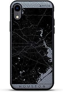 All Things Elon:When Something is Important。 Musk Quote | 豪华皮革系列修身版手机壳带真皮背面 & 3D 印花设计,适用于 iPhone XR(15.24 厘米)石灰色LUX-IRLTR2GR-MCCHOUSTON1 MAPS MAPS: Houston Streets Map