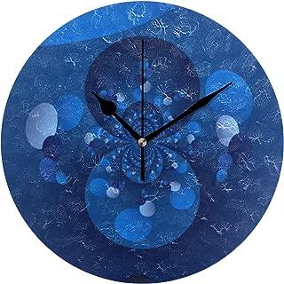 MIKA青 起源 掛け時計 スイープ(連続秒針)静音 デザイン 北欧インテリア おしゃれ 部屋装飾 インテリア