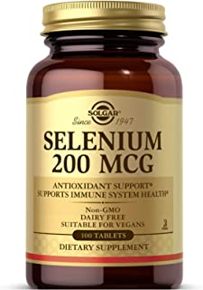 Solgar - Selenium 200 mcg Tablets 100 Count