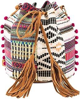Chumbak Free Spirits Bucket Bag - Women's Crossbody Bag, Over The Shoulder Purse and Handbag, Shoulder Bag, Drawstring Buc...