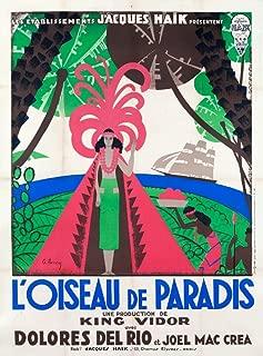 L'Oiseau de Paradis Vintage Poster (artist: Lancy) France c. 1932 58717 (12x18 SIGNED Print Master Art Print - Wall Decor Poster)