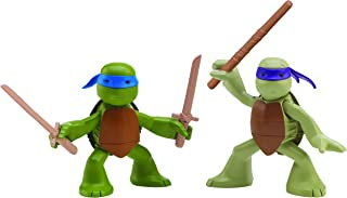 Nickelodeon Teenage Mutant Ninja Turtles, Ninjas in Training, Donatello and Leonardo Action Figures