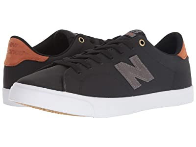 New Balance Numeric AM210 (Black/Tan) Men