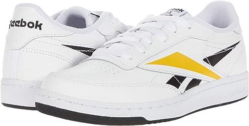 White/Black/Toxic Yellow
