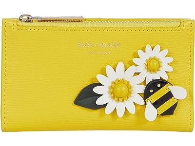 Kate Spade New York Bee Small Slim Bifold Wallet