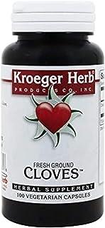 Kroeger Herb Cloves 100 Vcap