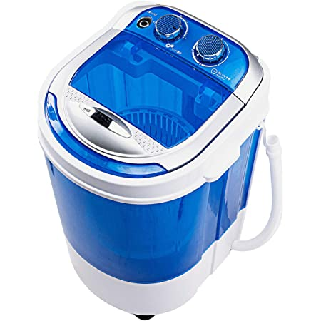 イーサプライ ミニ洗濯機 脱水 2kg 一人暮らし 介護用 赤ちゃん衣類 靴 スニーカー タオル 別洗い 小型洗濯機 EEX-CD018
