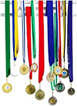 Pretty Display 'Invisible' Medal Hanger: Strong, Stylish, Medal Display Rack, Clear Acrylic Medal Holders for Runners, Soccer, Gymnastics & All Sports