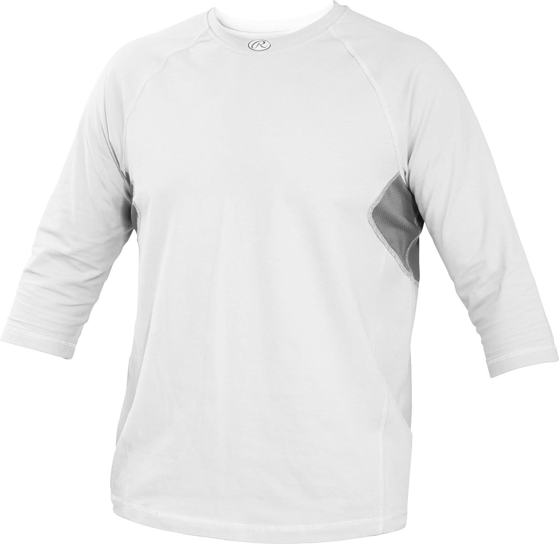 Rawlings Youth 3 4 Sleeve Performance Shirt