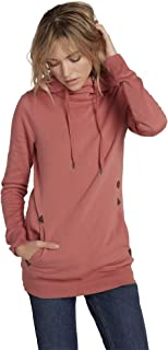 Women's Tower Pullover Heather Fleece Hooded Baselayer Sweatshirt