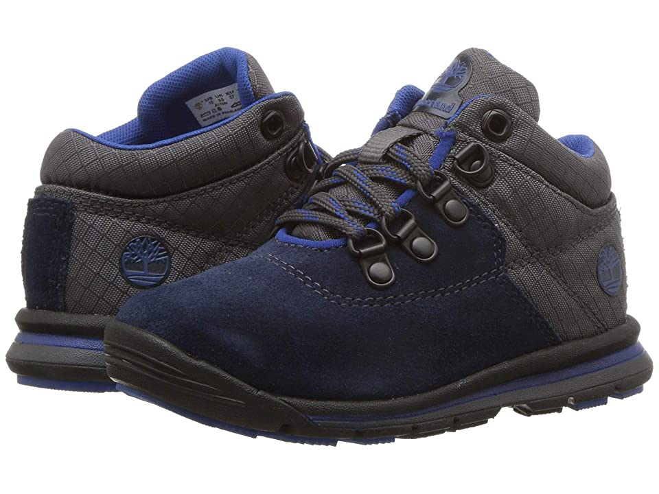 Timberland Kids GT Rally Mid (Toddler/Little Kid) (Navy Suede/Fabric) Kids Shoes