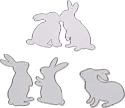 "CUTTING DIES  Easter Rabbit /""some bunny/"" METAL DIY Scrapbook PAPER Embossing"