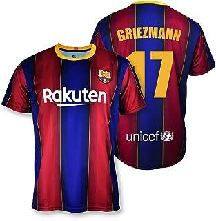 T-shirt Replica FC Barcelona 1. EQ seizoen 2020-21 - gelicentieerd product - Dorsal 17 Griezmann - 100% polyester - maat XXL