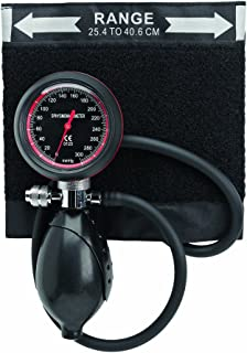 Timesco d05.115Tensiómetro aneroide, topacio, Palm Held