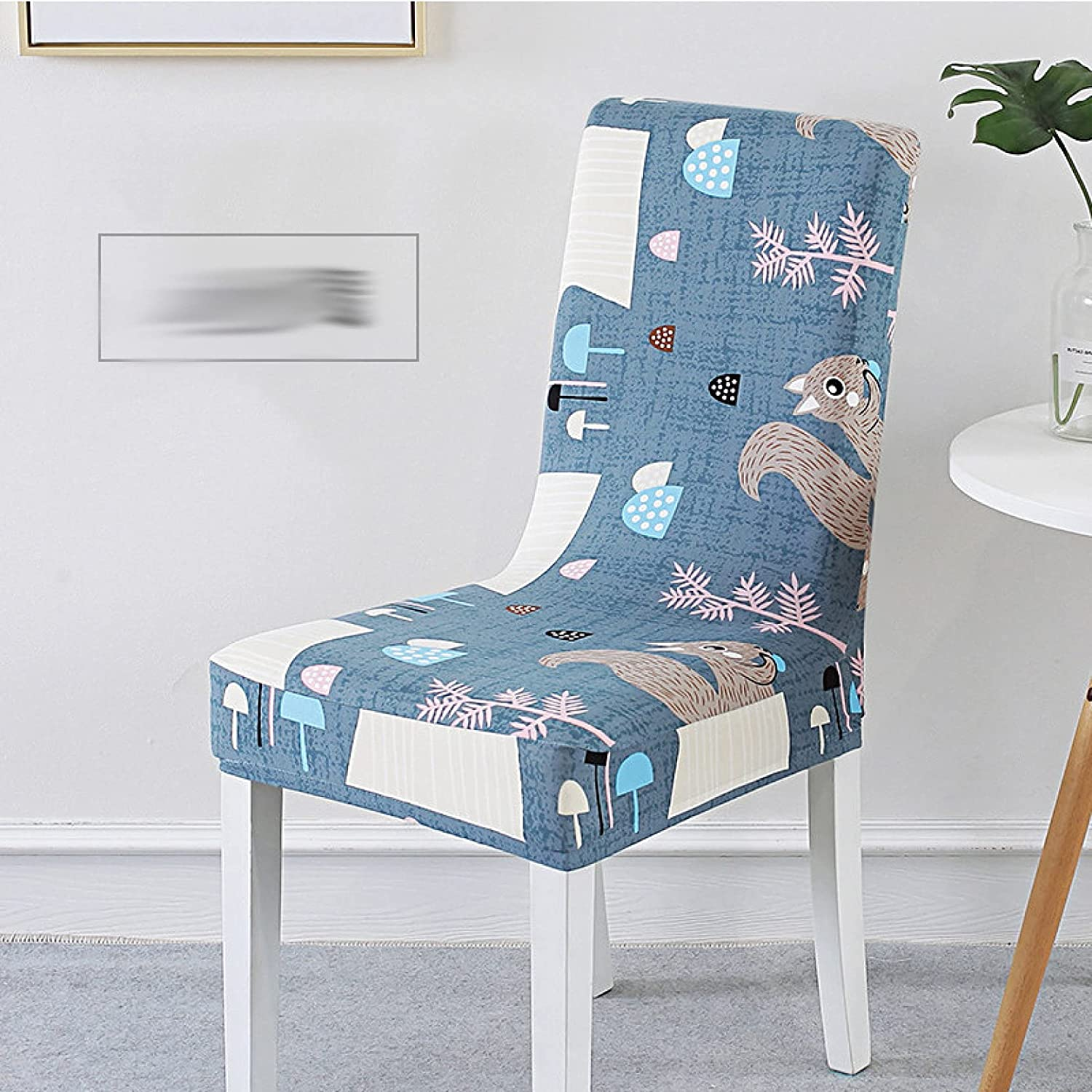 Set of Charlotte Mall 6 Stretch Dining Chair Cover B Max 40% OFF High Restaurant Decoration