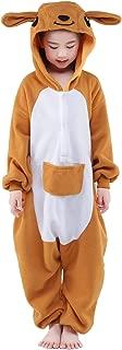 Children Unisex Pajamas Kids Animal Costume Cosplay Sleeping Wear (105, Kangaroo)
