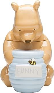 Zak Designs Disney Winnie The Pooh Ceramic Cookie Jar, 12-Inch