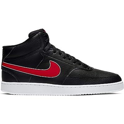 Nike Court Vision Mid (Black/University Red/White) Men