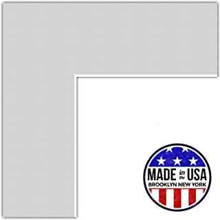 ArtToFrames MAT-146-24x32-Candlewick Custom Mat for Picture Frame with 20x28, 24x32, Clapboard