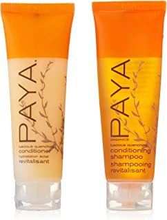 PAYA Organics Luscious Quenching Shampoo & Conditioner lot of 16 (8 of each) 1oz bottles