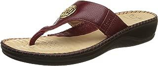 Scholl Women's Ellisatrimthong Leather Slippers