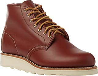 Red Wing Womens 6 Inch Round Leather Boots