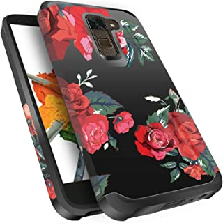 LG Stylo 2 Plus Case, LG Stylus 2 Plus Case, Miss Arts Slim Anti-Scratch Dual Layer Hybrid Sturdy Armor Protective Cover Case for LG Stylo 2 Plus/LG Stylus 2 Plus/K530/MS550 -Rose Flower