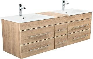 Amazon Fr Meuble Salle De Bain Avec Double Vasques