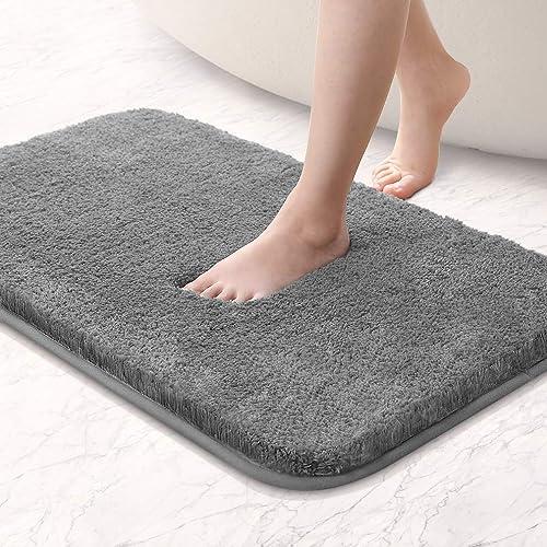 Beige, 50 x 150 cm Carvapet rutschfest Badematte Badezimmerteppich Wasserabsorbierend Badvorleger f/ür Badezimmer Bodenmatte Weiche Pl/üsch Mikrofaser Badteppich Duschvorleger