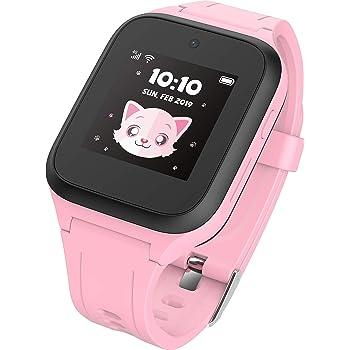 TCL MT40X Montre Intelligente pour Enfants avec Carte SIM Nano GPS, Appareil Photo et Bouton d'appel d'urgence
