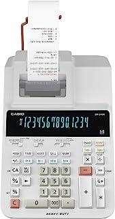 Casio DR-240R Printing Calculator Heavy Duty Type, White