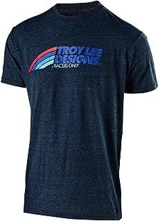 Troy Lee Designs Men's Velo T-Shirt (Medium, Midnight Blue)