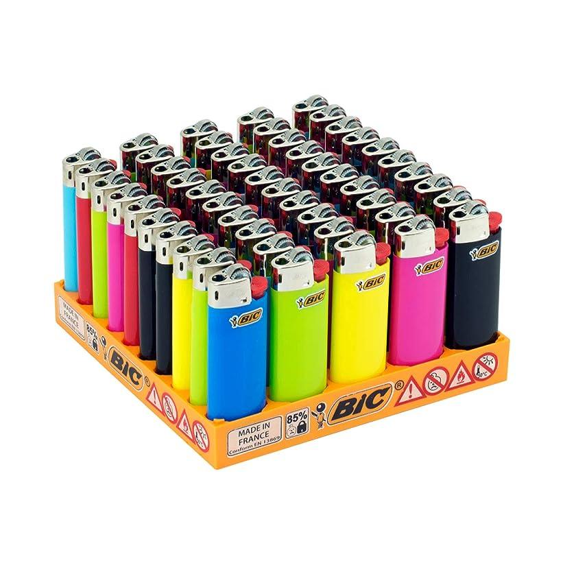 振動させるの中で不注意ビック(Bic) ライター J25 ミニ 50本セット トレイ付 J25-50DP