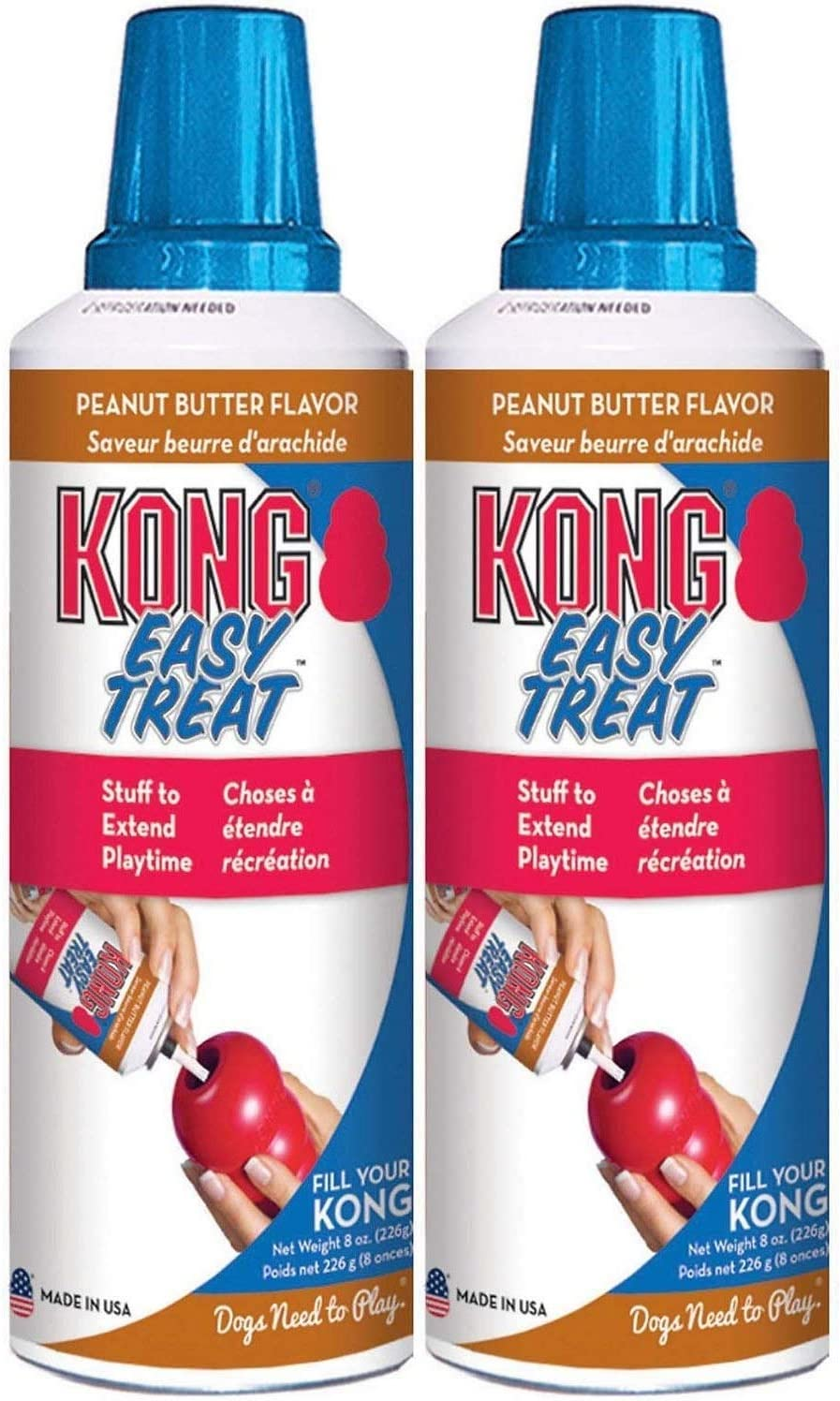KONGS Peanut Butter 70% OFF Outlet Max 42% OFF 6 of Pack