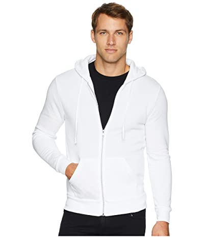 Alternative Rocky Eco-Fleece Zip Hoodie (Eco White) Men