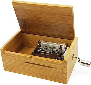 Wingostore meccanismo Musicale 15 Note Make You Own Song con Kit di Attrezzi (with Bamboo Box)