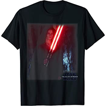 Amazon Com Star Wars The Rise Of Skywalker Dark Rey Photo T Shirt Clothing