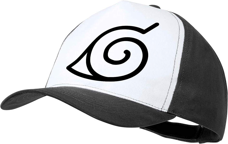 MERCHANDMANIA Casquette Logo Naruto Villa Feuille Couleur Cap