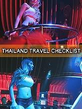 Thailand Travel Checklist