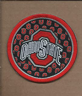 New 3 1/2 INCH Ohio State Buckeyes Iron ON Patch