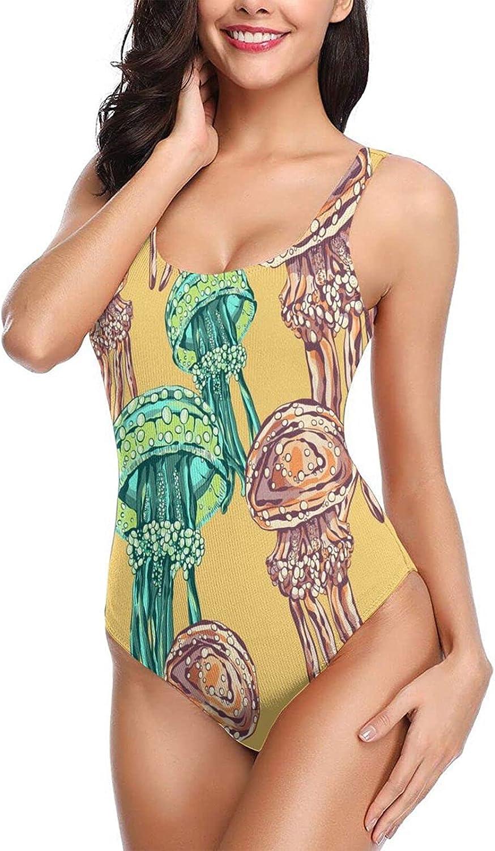 OcuteO Womens One Piece Bathing Suits Sexy Monokini Swimsuits Teen Girls Cute Waterco