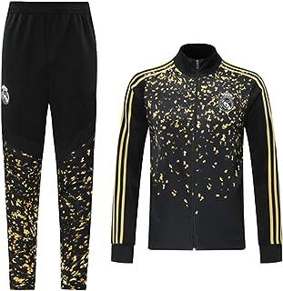 Reǎl Mǎdrid 2021 - Sudadera de fútbol para hombre, juego de chándal y pantalones de manga larga, técnica profesional, entr...