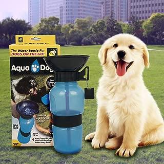 AOLVO 500ml Botellas de Agua para Mascotas Bebedero Portatil para Viajes al Aire Libre Amarillo