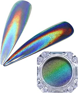 Best rainbow holographic nail powder Reviews